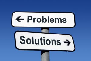 problems solutions sign post