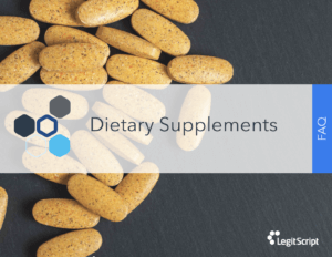 Dietary Supplements FAQ cover