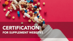 Supplement Website Certification Webinar