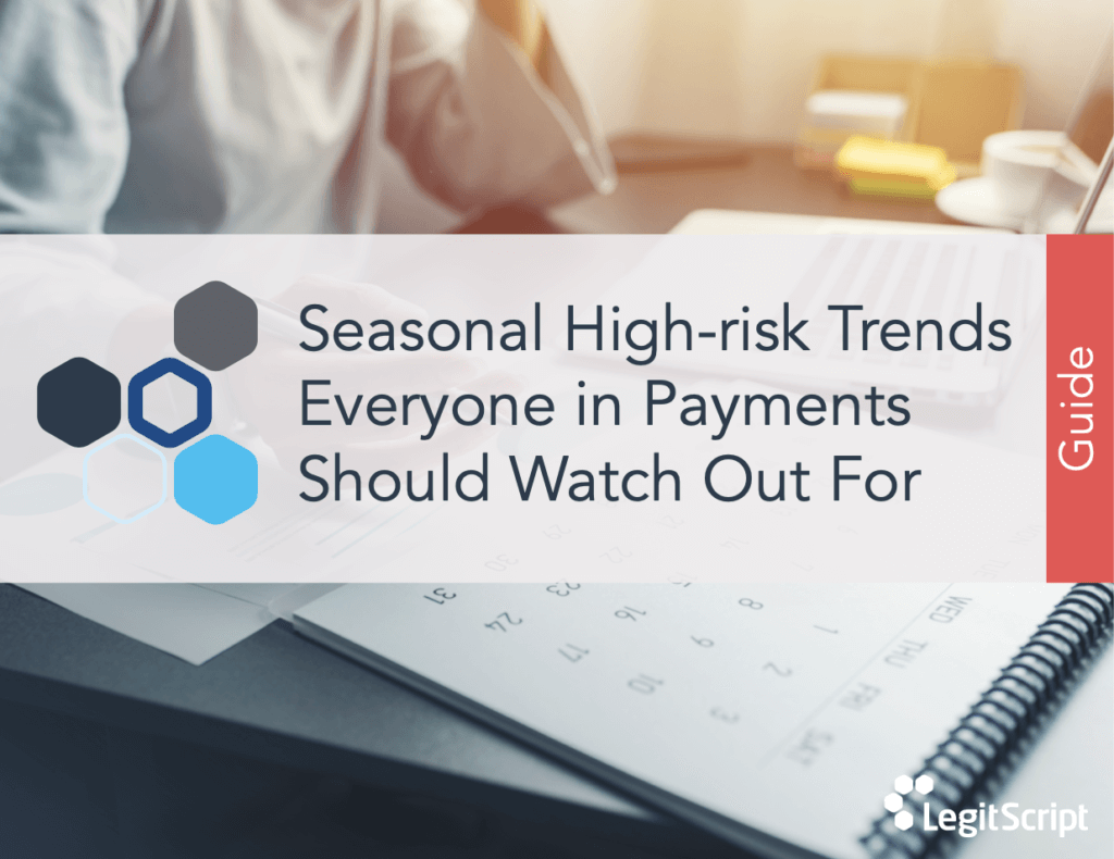 Cover of Seasonal High-risk Trends guide